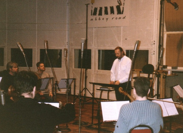 Rick at Abbey Road Studio