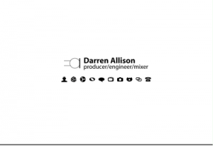 Darren Allison, Producer