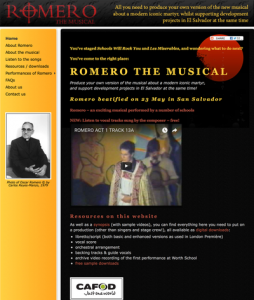 Romero The Musical